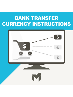 Bank Transfer Currency Instructions
