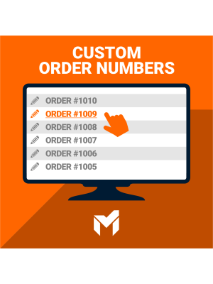 Custom order numbers for Magento 2