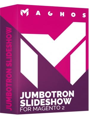 Jumbotron slideshow for Magento 2