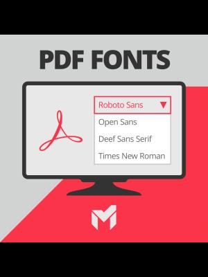 PDF Fonts